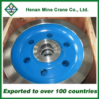 800mm steel crane wheels