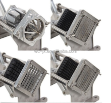 manual potato chips making machine/potato french fry cutter