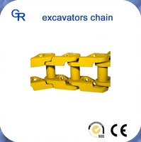 EX120 earthmoving genuine excavator replacement parts track chain assy