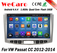 Wecaro WC-WU1011 Android 4.4.4 radio 2 din for vw passat cc car gps navigation 2012 2013 2014 TV tuner