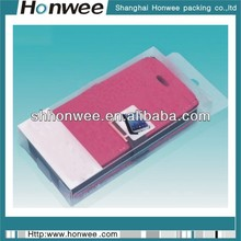 2014 promotional clear mobile phone pvc plastic packing case
