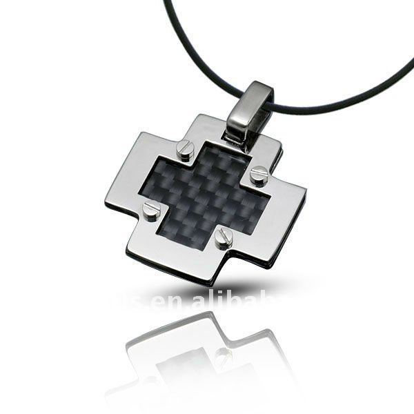Cross Stainless Steel Pendant Lighting Jewelry