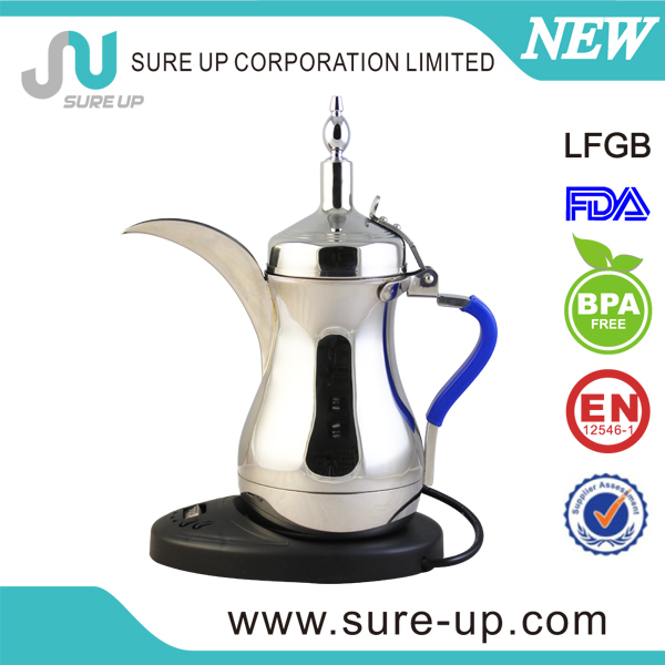stainless steel electric dallah arabic coffee pot dallah for sale (ESOF)