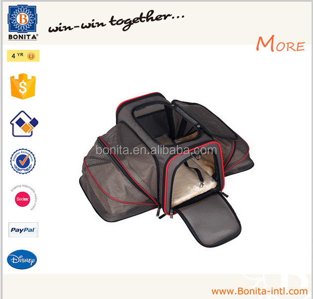 Wholesale expandable vietnam travel lovable products dog sling pet cat carrier bag