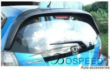 Carbon Fiber Rear Spoiler for Honda Fit Jazz 2009