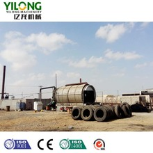 used tyre recycling pyrolysis plant with 50% oil output