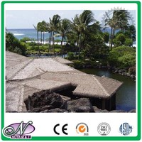 Plastic thatched lightweight roof tile