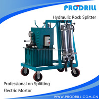 Diesel powered Water cooled darda similar rock stone splitter for mining concete