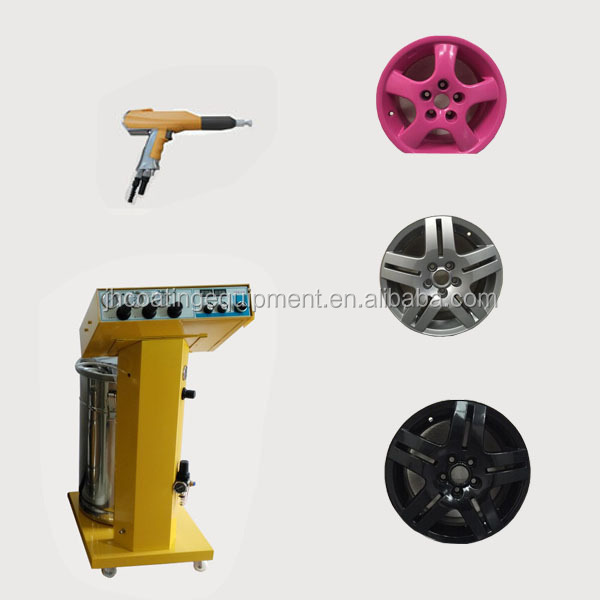 Eectrostatic Powder Coating Machines For Car Rims JH-605