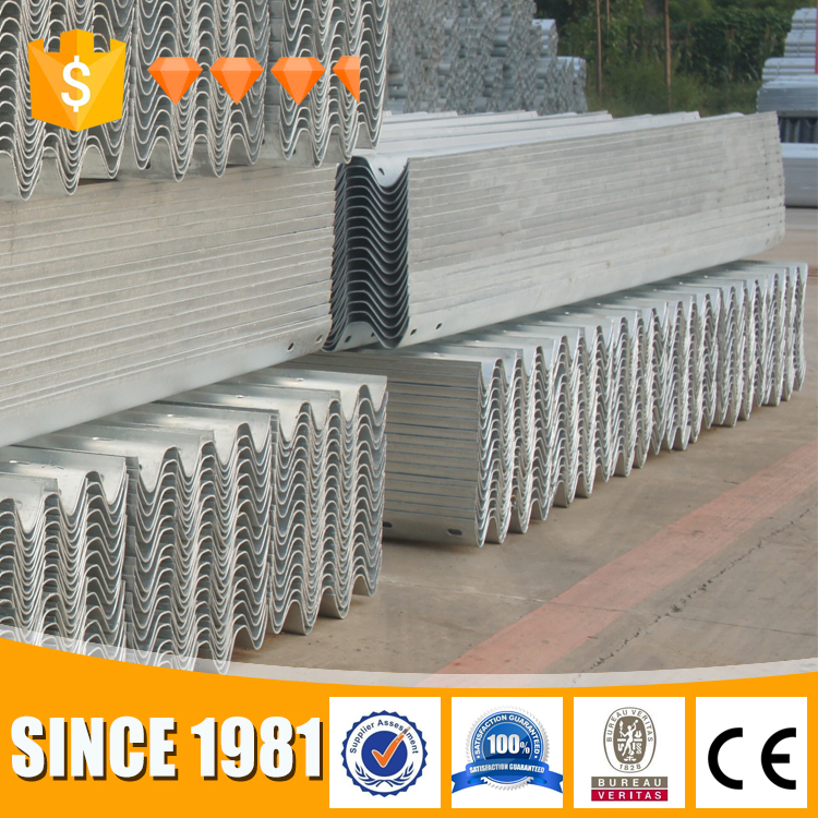 Top Accessed Guardrail Supplier / China suppliers corrugated steel highway guardrail for road safety protect
