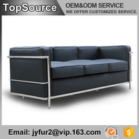 Sitting Room Design Low Price American Style Leather Sofa Set