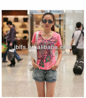 OEM Fashion Korea Style Lady's T Shirt
