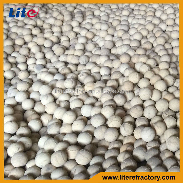Fire-Proof/Stress Resistance Ceramic Alumina Ball Ceramic Ball Refractory Fire Ball