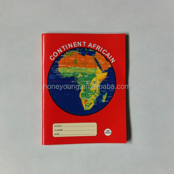 2015 South africa school stationery notebook with calendar