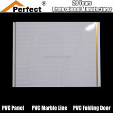 Cheap Bathroom Waterproof PVC wall panels PVC suspended ceiling panel, pvc ceiling tiles