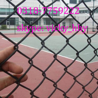 Factory chain link fence