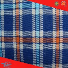 2015 Latest Dress Designs High Quality Country Check Fabric
