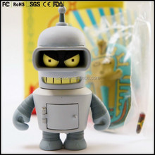 limited edition custom made Kidrobot 3'' Bender Vinyl Art Figure Toy manufacturers