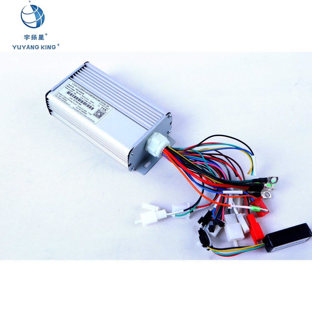 E Bike Controller Brushless DC Motor Type 500W 72V