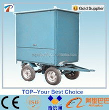 Stainless steel trailer mounted transformer oil purification unit,vacuum degasifier system