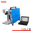 New design jewelry fiber laser marking machine with brass holder