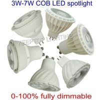 Plastic+aluminum hot new product led spotlight gu10 led bulb 5w led spot light smd/cob spotlight 110V 120V 220V 230V