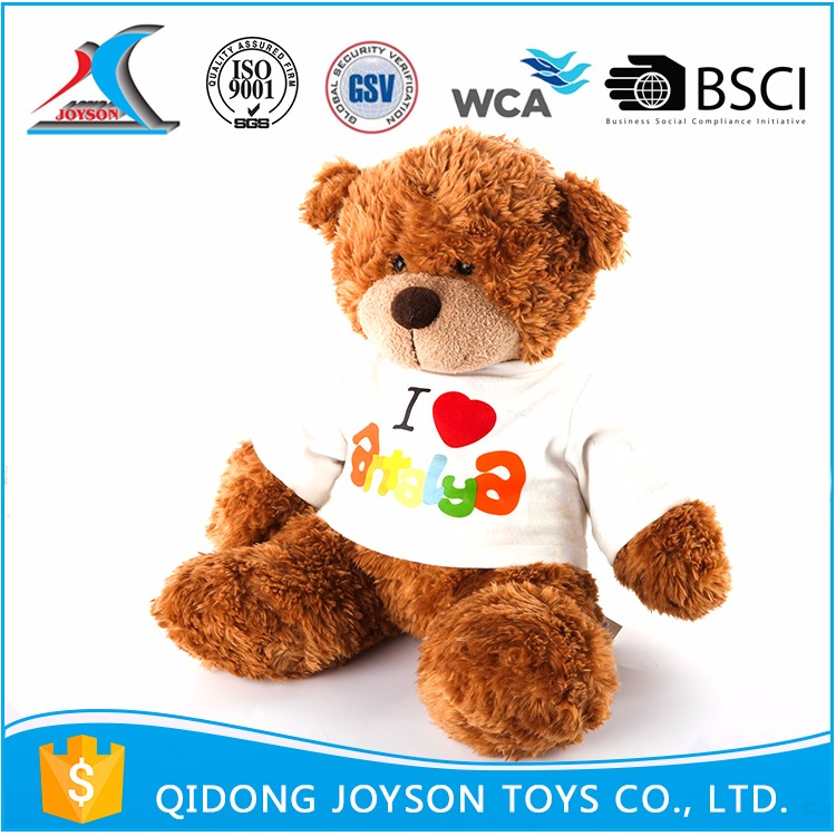 OEM Size Pp Cotton Plush Personalized Teddy Bear