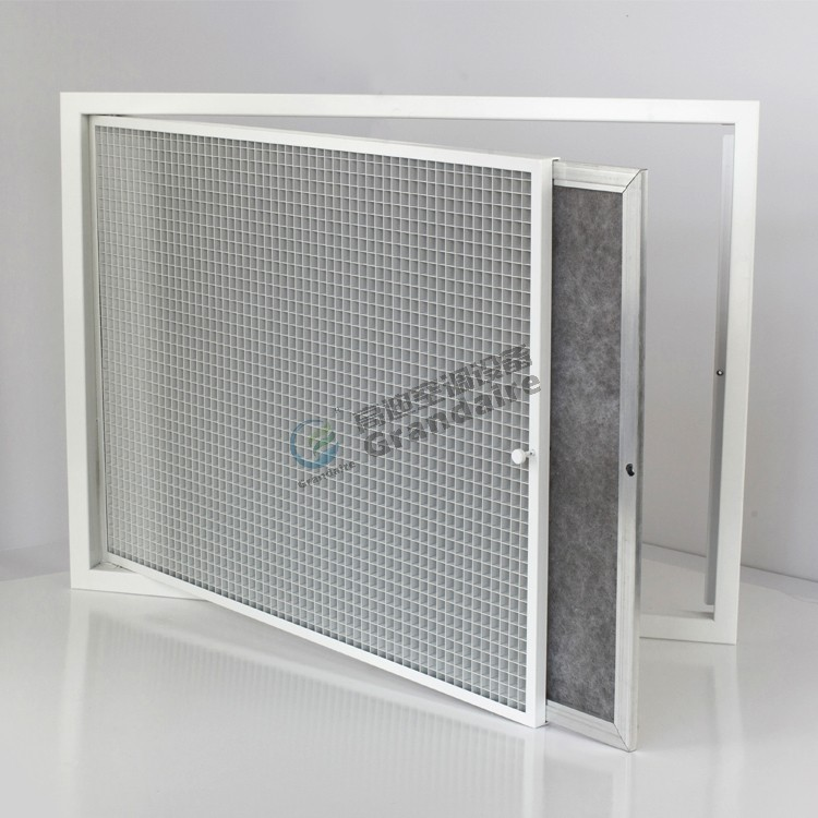 Egg Crate Return Air Grille : Egg crate return air vent grille with filter buy