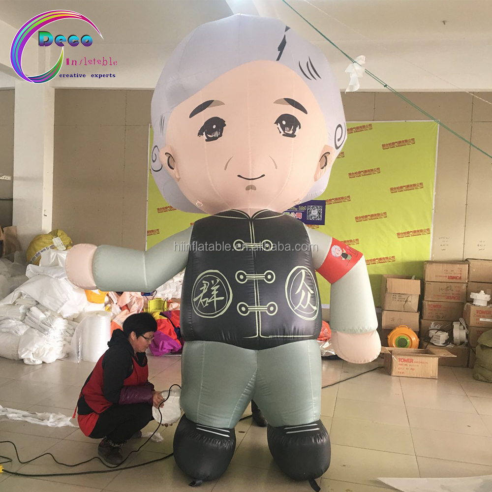 advertising inflatable women model,large inflatable old women Characters cartoon figure