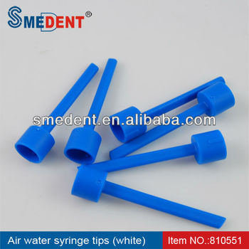 Dental disposable Air water syringe tips cover blue color
