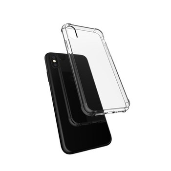 Ultra transparent shockproof phone case for iphone X