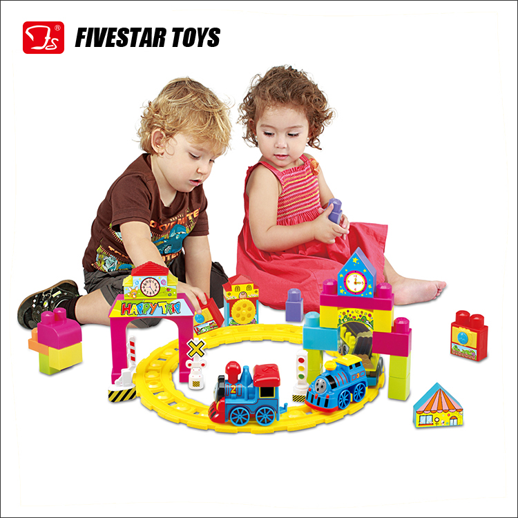 Popular Battery Operated Car Toy Train Track With Music