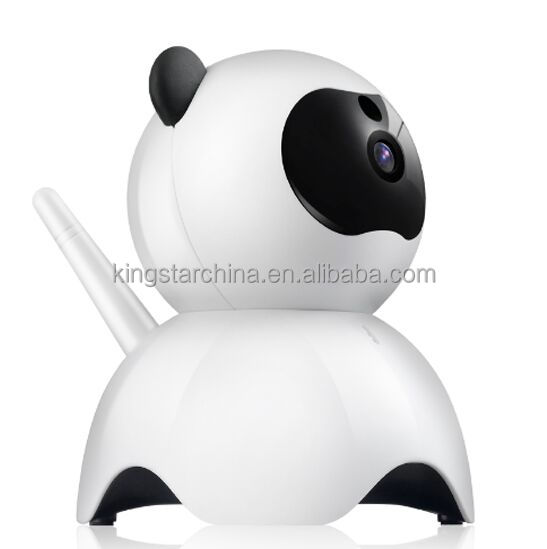 1MP 720P unique housing cute panda 180 degree Panoramic Newest Mini IP Camera Wireless Smart Network CCTV Security