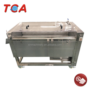 1800kg/h semi automatic potato peeling machine