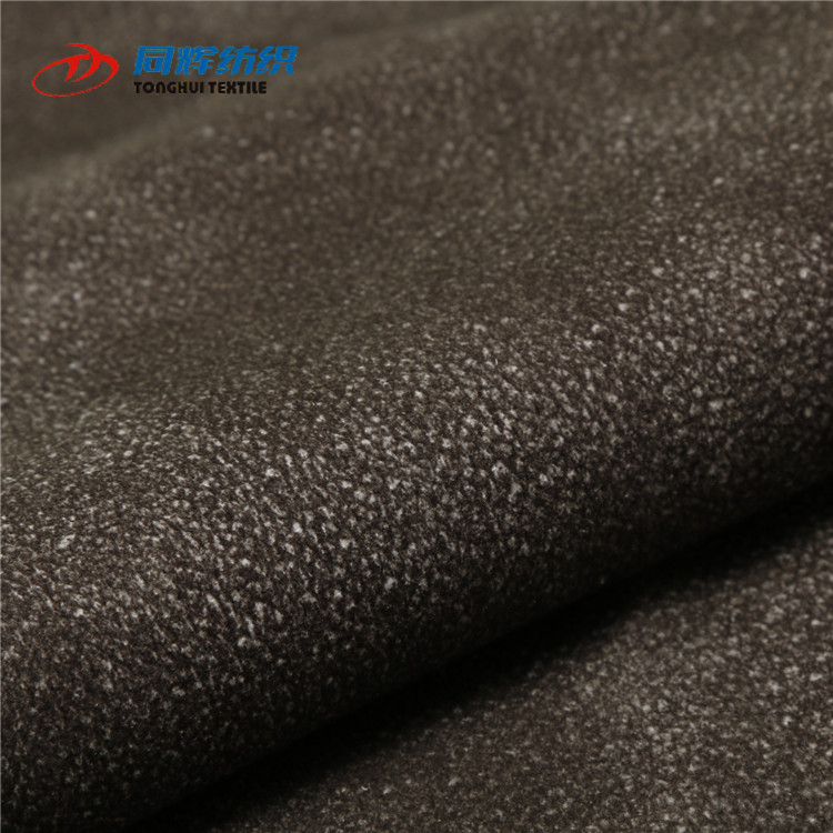 Customized Synthetic upholstery Faux Embossed leather Fabric for car seats cover