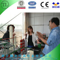 Environmental and best service of used engine oil refining machine