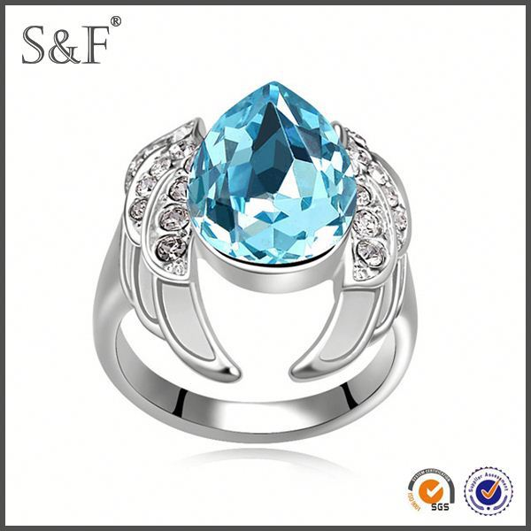 HOT SELLING!!! Newest Style Crystal foot finger ring