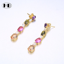 Fashion gold plated maang tikka designs images colorful diamond silver earrings women