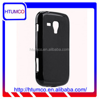Popular Black Mat TPU case for Samsung Galaxy S Duos 2 GT-S7582 / Galaxy S GT-S7562