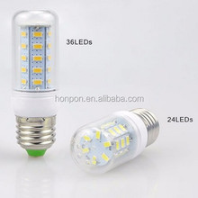 5730SMD Lampada Led Lamp SMD 5730 Led Bulb E27 LED bulb corn 30Led 42Led 64Led 80Led 89Led White Warm White Led Spotlight Lamps