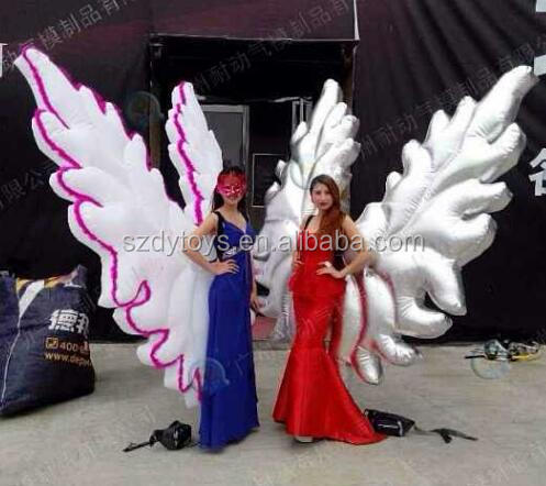 victoria's secret wings pvc inflatable wings toy wings
