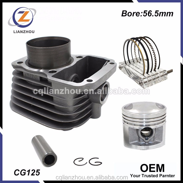 China OEM CG125 Engine Block cylinder Kit