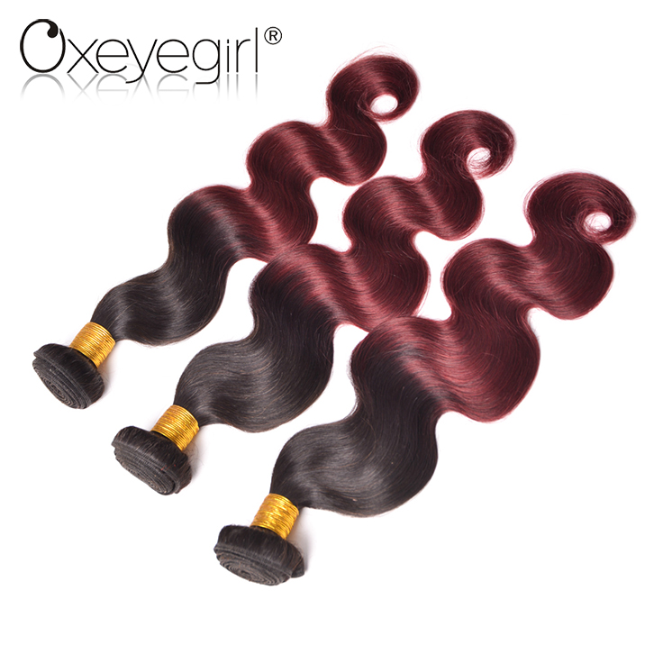 2017 trendy styles hot new products raw peruvian ombre hair