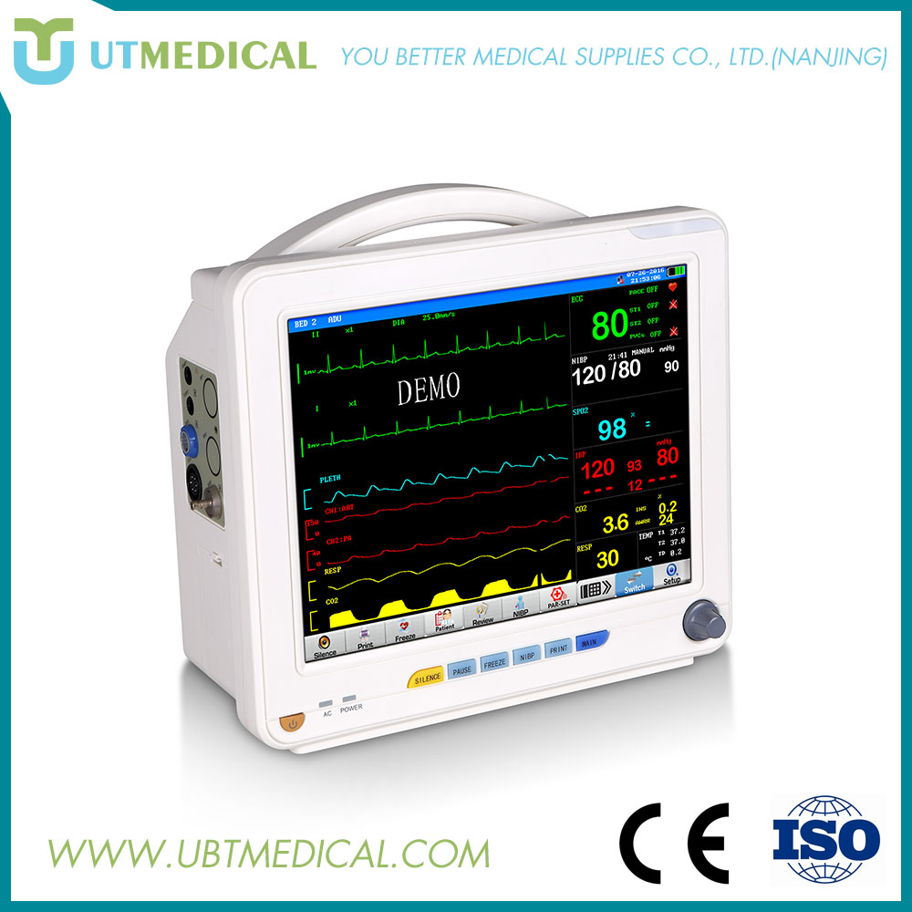 China best price digital blood pressure cardiac monitor