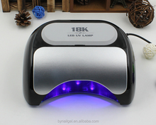 Beauty salon professional nail art 48w led nail lamp 18k led nail lamp with EU,AUS,US,UK pug
