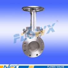 Flowx 2015 New Design manual knife gate valve water environmental protection