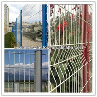 colorful pvc coated welded wire mesh fence(manufacturer)Aly