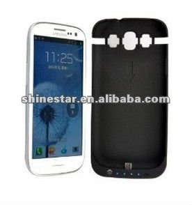 External Backup Battery Charger Case for Samsung Galaxy S3 S III 2200mAh