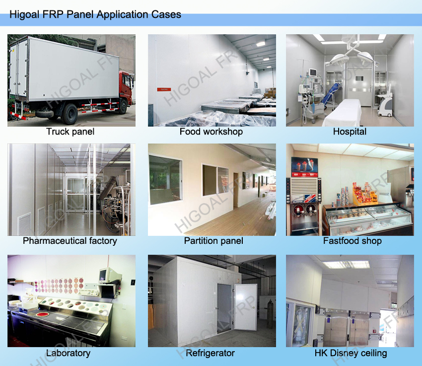 FRP camper trailer panel, anti-impact,good vision