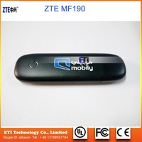 Unlocked ZTE MF190 3G 7.2M USB dongle wireless Modem WCDMA 2100Mhz USB stick for Android OS